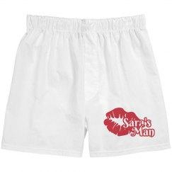 Sara's Man Custom Mens Underwear