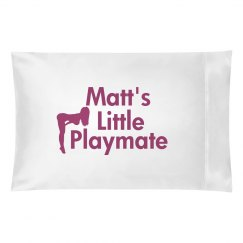 Matt's Playmate Pillow