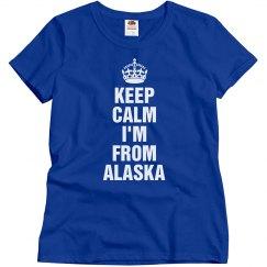 I'm from alaska