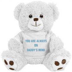 Daddy loves you Teddy Bear