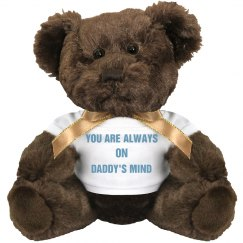 Daddy loves you Teddy Bear