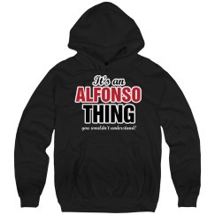It's an Alfonso thing