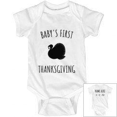 Baby's First Thanksgiving