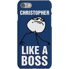 Chris Like a Boss iPhone