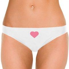 women's bikini bottoms with rose