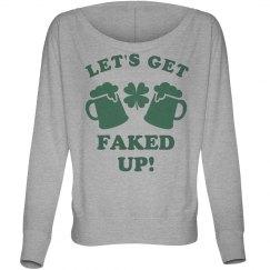Fake Patty's Day Long Sleeve Gal
