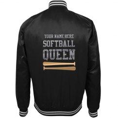 Custom Softball Queen