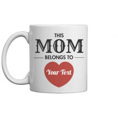 Custom Mothers Day Gift From Kid