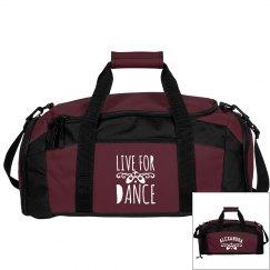 Alexandra's ballet bag
