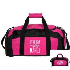 Lauren's ballet bag