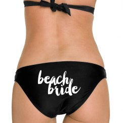 Beach Bride Bikini Bottom