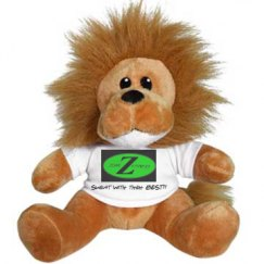 ZZF Fierce Like a Lion Plush