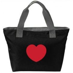 Red Love Heart Bag