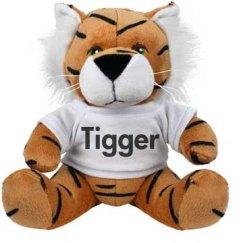 Tigger Plush Tiger