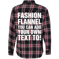 Design Your Own Flannel