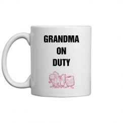 Grandma on duty