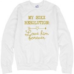 New Years Love Resolution