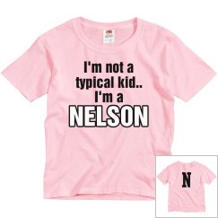 I'm a Nelson!