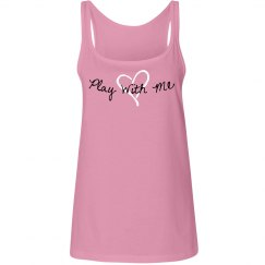 Play with Me Pink Tank