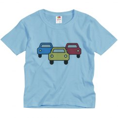 Fathers Day Son Shirt Car