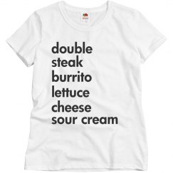 Double Steak Burrito
