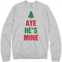Christmas Aye He's Mine