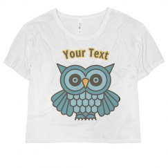 Wise As A Owl Womens Shirt