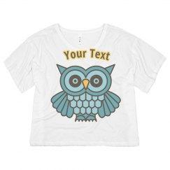 Wise As A Owl Womens Shirt
