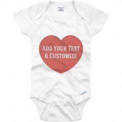Custom Onesie For Mothers Day