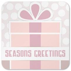 Seasons Greetings Coaster