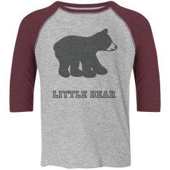 Little Bear 3/4 Sleeve Shirt