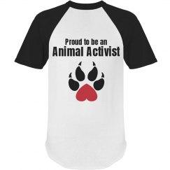 Proud animal activist