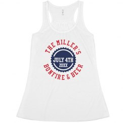 July 4th Party Tank