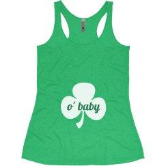 O' Baby St. Patricks Maternity Top
