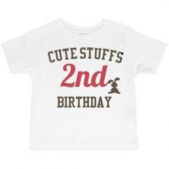 Cute stuffs 2nd birthday