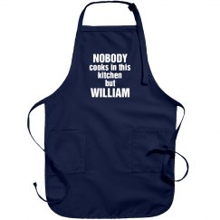 William is the cook!