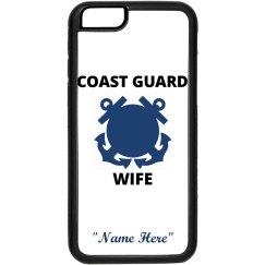 Personalize coast guard wife