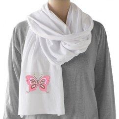 Pretty Butterfly Scarf