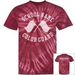 Color Guard Tie Dye Shirt