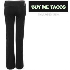 Buy Me Taco Yoga Pants