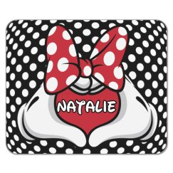 Child's Computer Mousepad Gift With Custom Name