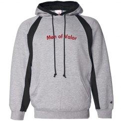 Men of Valor hoodie.