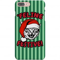 Christmas Cat iPhone Case