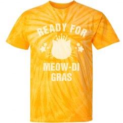 Ready For Meowdi Gras Yellow