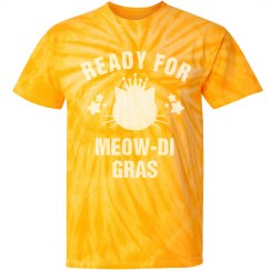 Ready For Meowdi Gras Yellow