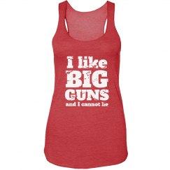I LIKE BIG GUNS -purple