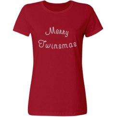 Merry Twinsmas Adults Shirt