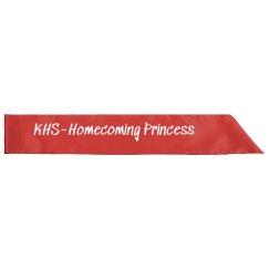 Red Homecoming Princess