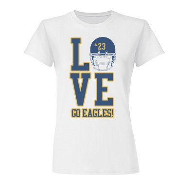 Eagle Football Girlfriend