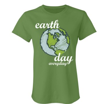 Earth Day Globe Tee